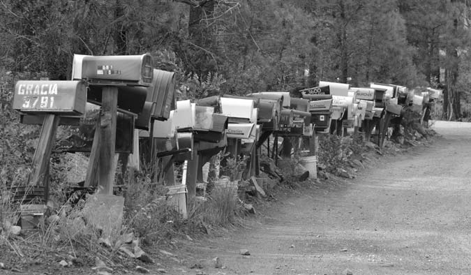 158 Mailboxes in Prescott, Arizona