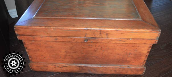 Antique Carpenters Tool Chest