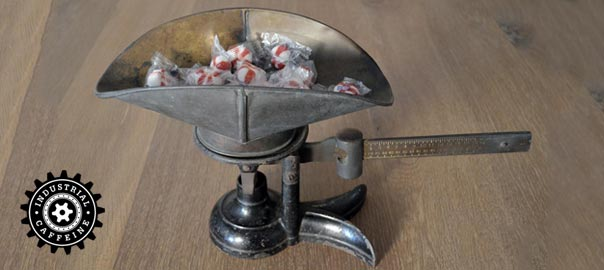 Antique Fairbanks Candy Scale Industrial Caffeine