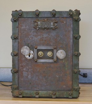 Antique Bauche Safe