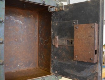 Antique Bauche Safe Interior