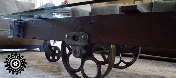 Lineberry Factory Railroad Cart Industrial Caffeine