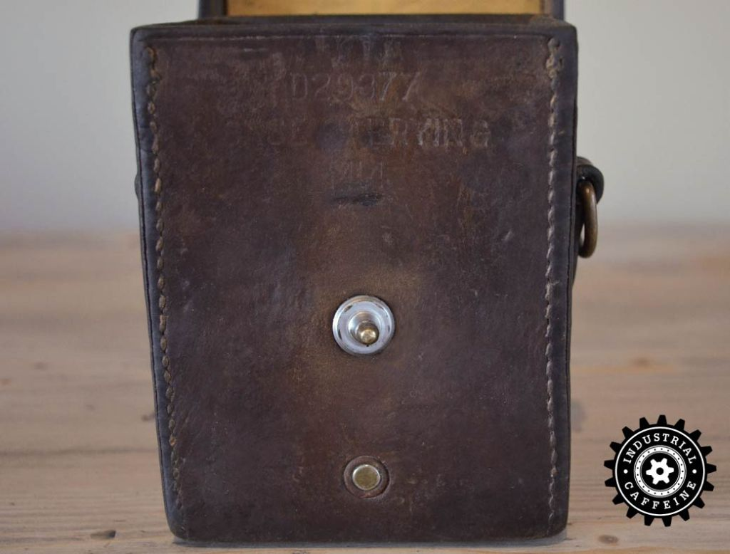 Wwii Leather Carrying Case Industrial Caffeine