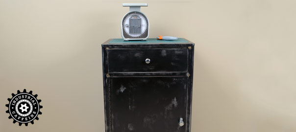 Vintage Medical Supply Cabinet
