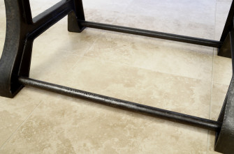 SIMPLEX Machine Base - Stretcher Rod Detail